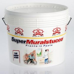 SUPERMURALSTUCCO, STUCCO DI FINITURA PRONTO IN PASTA. DI MARIA