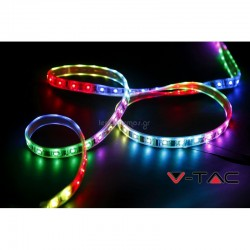 Striscia LED SMD 5050 - 60 LED RGB IP65